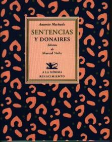 Sentencias y donaires Antonio Machado