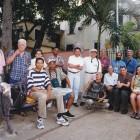 Colegas y amigos de Maikel García en La Habana