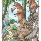 El hada y el dragón, Maikel García